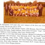 1979 U16 Team County Champions