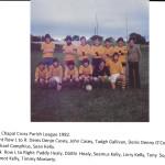 1982 Parish League Team.