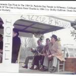 Kilcummin Gaa Celebrating The Centenary of The Gaa At The 1984 St Patricks Day Parade. Bobby Gallivan, Denis Horgan, Gene Moriarty.