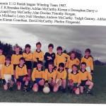 1987 U12 Parish League Team
