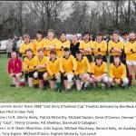 1988 O Sullivan Cup Team.
