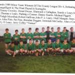 1989 Kilcummin Minor Team.