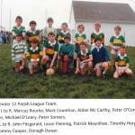 1989 U12 Parish League Team.