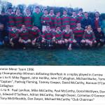 Kilcummin 1996 Minor Team,East Kerry Champions, 1996.