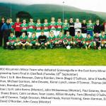 Kilcummin 2002 Minor Team.