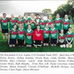 2002 Ladies U16 Team