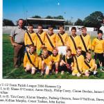 2006 Parish League Team.