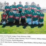 2006 U12 Parish League Team.