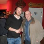 2015 Kerry All-Star Goalkeeper, Brendan Kealy, With Gene Moriarty, In The Kilcummin Gaa Klub Bar, 7-11-2015