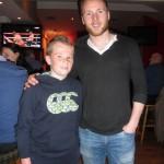 Dara o Callaghan, With 2015 Kerry Goalkeeper, All-Star in The Kilcummin Gaa Club 7-11-2015