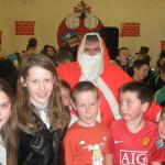 Santa, and His Helpers at The Kilcummin Gaa Club on Sunday 14-12-14