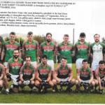 Kilcummin Senior Team 2016 (O Donoghue Cup)