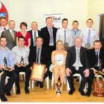 Award Presentations, at The January, 2012 Gaa Social.