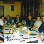 Celebrating 2001 Senior League div 1 Title