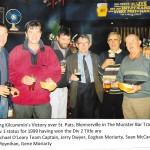 Celebrating Div 1 Status in munster Bar Nov 1998