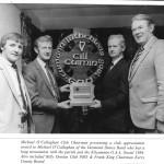 Centenary, Award, For Desmond Band Leader. 1984.