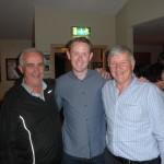 Dermot Moynihan, Colm Cooper,Billy Doolan, at The Gaa Club Bar,17-10-2014.