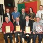 Kilcummin Gaa Award Receipients, at The January, 2013 Social in The Club.