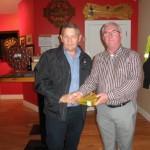 Barry Duggan Kilcummin Gaa Club Golf Society, 2015 President, Presenting Tim Ryan, With Prize For Best Back 9.
