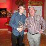 Kilcummin Gaa 2015 Golf Society President Barry Duggan Presenting 3rd Prize To Patrick Buckley.