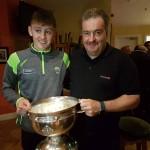 Willie Maher, Kerry Minor All-Ireland Medal Winner, 1980, at Full Forward.(0-4) and Sean O Leary, All-Ireland Medal Winner 2017. (Corner Back)