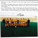 Kilcummin U16 Team 1989