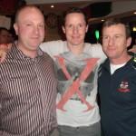 Shane o Callaghan/Sean Doyle and Diarmuid O CALLAGHAN Enjoying The Gaa Social January 2014
