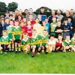 Mike McCarthy and Seamus Moynihan Visit Juveniles September 2000