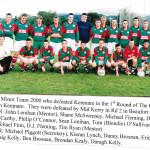 Kilcummin Minor Team 2000