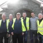 Kilcummin Gaa Stewards, With Aidan o Mahoney, At The Coolick School, Fundraising Cycle. 20-5-2017