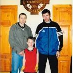 Noel Duggan with seamus and Mike 2000
