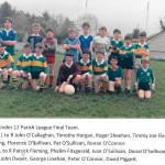 U12 Parish League Team.