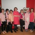 Kilcummin Gaa Ladies Committee Members Enjoying The Pink Night Fundraiser in The Klub 27-2-2016