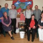 Kilcummin Gaa Rambling House Organisers at April 2014 First Night.