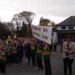 Clashnagarrane School Welcoming Sam-Maguire To The School in Oct 2014.