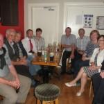 A Happy Kilcummin Gaa Group Socialising in The Klub Bar August 2014.