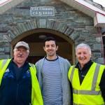 Tom Ulick Sullivan, Aidan o Mahoney, and Billy Doolan,At Coolick School Fundraising, Cycle. 20-5-2017