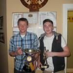 2012 Rathmore/Kilcummin U21 capt Chris o Leary,& Man of Match Shane Murphy