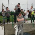 Kilcummin& Kerry Goalkeeper Brendan Kealy doing The Ice-Bucket Challenge at The Kilcummin Gaa Fundraiser in Aid Of motor Neurone on Sunday 31th August 2014