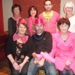 Launching Charity, Pink Night, January, 2013.