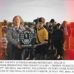 County u14 div 1 presentation 1992